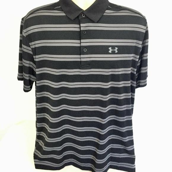 73a5e473 Under Armour Shirts | Loose Heat Gear Golf Polo Shirt Xl | Poshmark